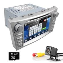 Автомобильный GPS навигатор автомобильный DVD для Toyota Camry 2008 2009 2010 2011 с 3 г радио Bluetooth 2 DIN стерео RDS руль Cam