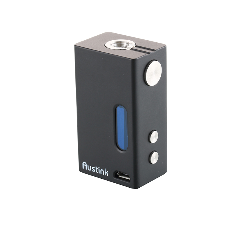 Original Austink A50 50W TC Mod box 1200mah Electronic Cigarette Mod box Vaporizer Sub Ohm 0