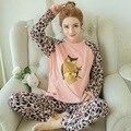 Весна и осень одежды для беременных набор для вышивания из беременных женщин носить пижамы Главная Обстановка сова лактации набор 1B615