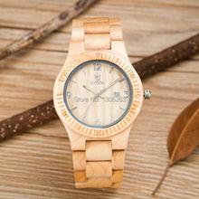 Новый кварцевый мужчины женщины деревянные часы тонкий дизайнер 2016 деревянные часы orologio бесплатная доставка по всему