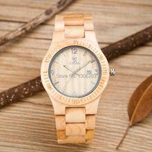 Neobyčejné unisexové hodinky ve dřevěném provedení