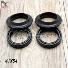 41X54 11 Motorcycle Front Fork Damper oil seal Dust cover For Honda CB-1 CB400 VFR400 NC30 CBR400 CB750 CB250 Hornet Magna 41*54(China)