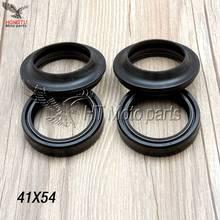 41X54 Front Fork Damper oil seal Dust cover For Kawasaki ZZR400/600 ZX 6R KLE650 Versys 650 VN900/1500 Vulcan Z1000 Ninja 1000