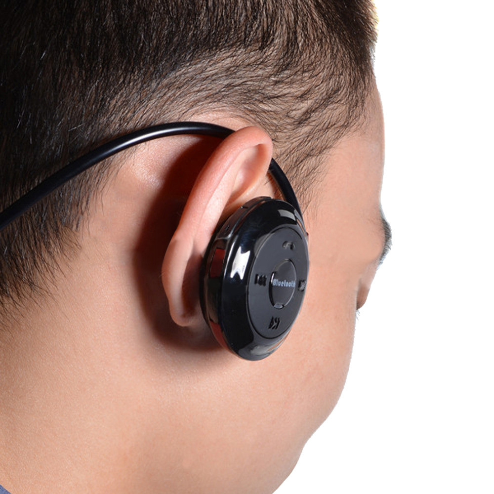 Mini Wireless Bluetooth Stereo Earphone Portable Type Headset Wireless Stereo Musical Earphone For Smart Phones #ES ...