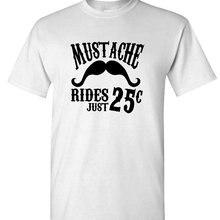 1db621a2774 T Shirt Summer Casual T Shirts Male Low Price Steampunk Fashion 2017 Mustache  Rides Shirt O