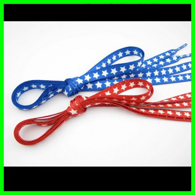 Red/Blue Shoe Lace For Kid Gir Boys Sneaker Shoelace Flat Elastic 1m Length Shoe Cords Cute Cavans Shoestrings 10 Pairs semi circle multicolour shoelace two tones cavans shoe laces elastic men s shoes lacet 110cm length 10 pairs on sale