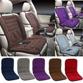 Car Heated Seat Cushion Hot Cover Auto 12V Heat Heating Warmer Pad Winter 100 x 52 x 2cm