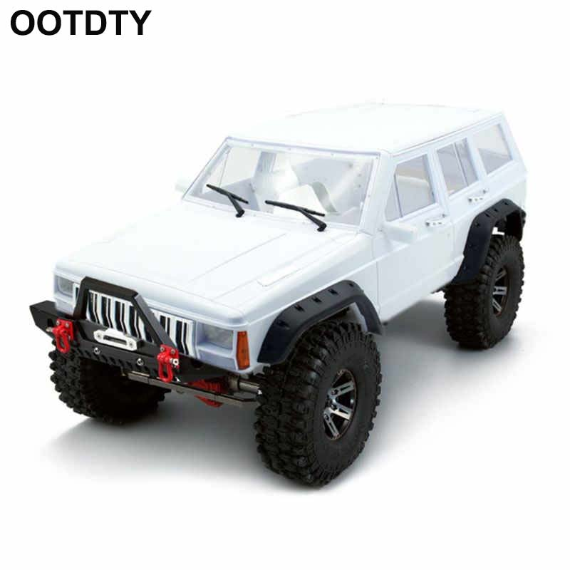 AX 313 12 3inch 313mm Car Body Shell for 1 10 RC Truck Crawler Axial SCX10