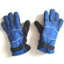 Outdoor Winter Glove Cycling Mitten Youth Snowboard Girls&Boys Thicken Luvas Warm Ski Gloves Windproof Motorcycle Palm Wide 10cm