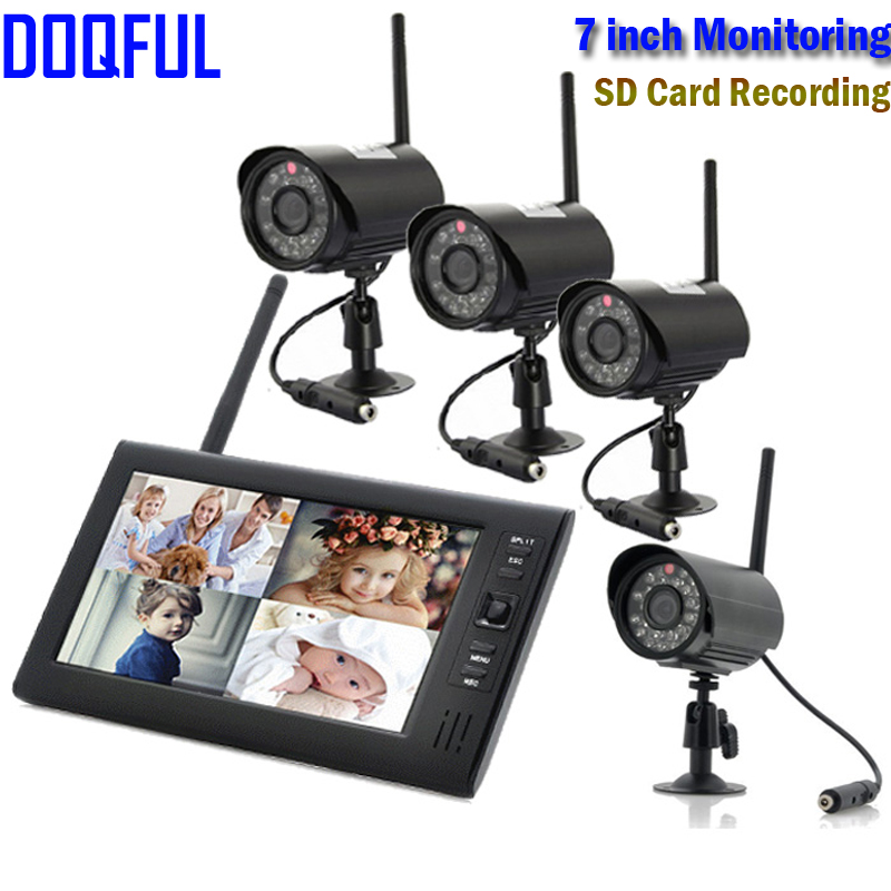 Exterior Home Security Cameras: Outdoor Home Security Camera System Wireless Digital