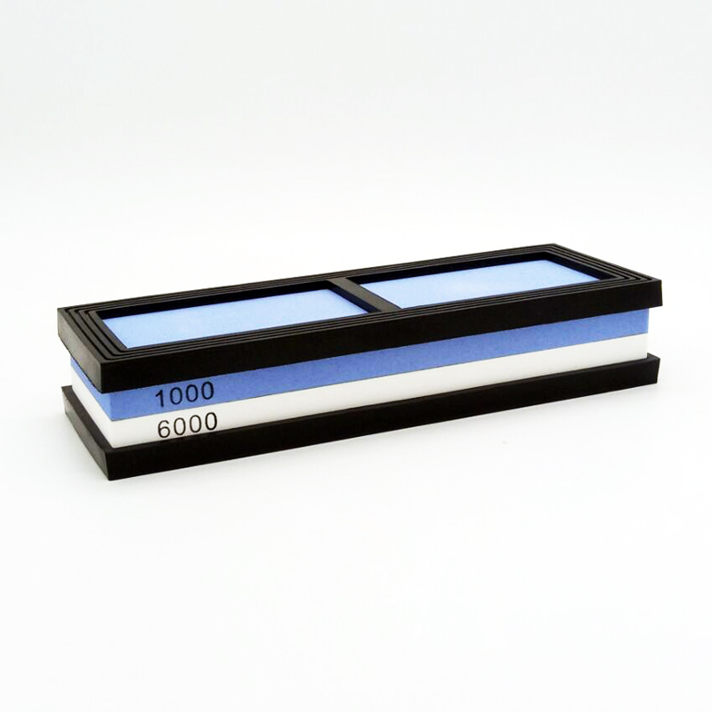NHM coltello Da Cucina per affilare i coltelli 1000/6000 grit corindone singolo lato whetstone pietra ad olio levigatura pietre utensili da cucina