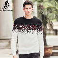 Pioneer Camp New Pullover Sweaters Men winter autumn Casual Warm Knit Sweater brand clothing high quality Men's Sweaters 611219