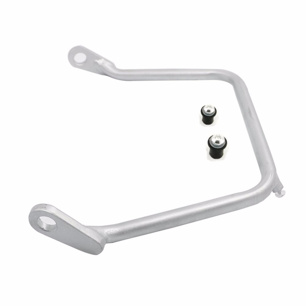 Windshield Mounting Bracket For BMW R1200GS ADV 2004 2012 Front Steel Pre Drilled Silver fit R