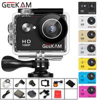 GEEKAM A9 Action Camera Full HD 1080P 2.0 Screen 30M Waterproof Helmet Mini Video Recording Cameras Sport Cam DVR