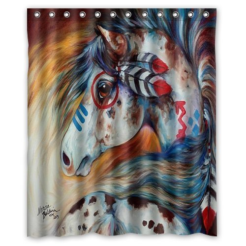 Indian War Horse Watercolor painting Printed Water. Online Get Cheap Horse Bathroom Decor  Aliexpress com   Alibaba Group