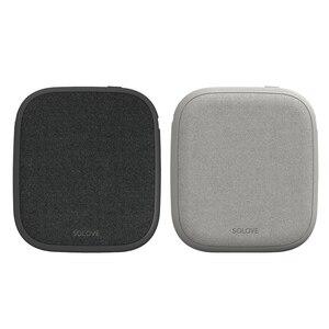 Image 5 - Xiaomi SOLOVE 10000mAh cargador inalámbrico 2.1A carga rápida cargador ultrafino de teléfono móvil para iPhone Xiaomi Tablet