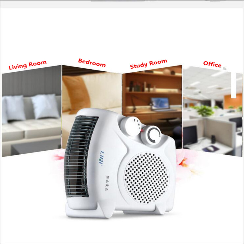 220V 3 Gear Mini Electric Warm Air Blower Electric Air Heater Room Fan Heater Cold and Warm Dual Purpose Overheat Protection220V 3 Gear Mini Electric Warm Air Blower Electric Air Heater Room Fan Heater Cold and Warm Dual Purpose Overheat Protection