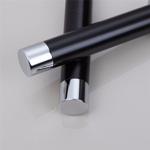 OUBONI Black Bathroom Faucet Deck Mounted Oil Rubbed Bronze Sink Basin Mixer Tap Brass Faucet Stream Water Taps