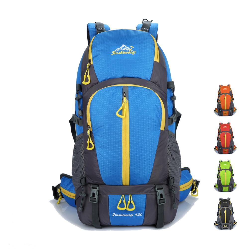 Sac à dos de randonnée étanche sac à dos tactique 45L sac à dos de voyage escalade Camping sac à dos extérieur pour hommes femmes sac