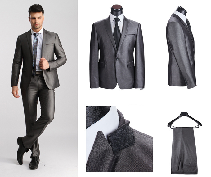 New 2014 Latest Coat Pant Desings Mens Wool Business Suits Mercerized Yarn Wedding Tuxedo Round Collar Terno Masculinos In From Clothing