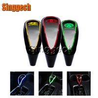 Car Styling Touch Sensor LED Lighted Colors 5 6 Speed Shift Gear Knob For Hyundai Solaris