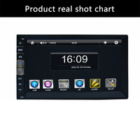 2 din 7 inch player Bluetooth Handsfree Rearview after Touch screen hd system Radio BT(No DVD NO GPS) Car Electron