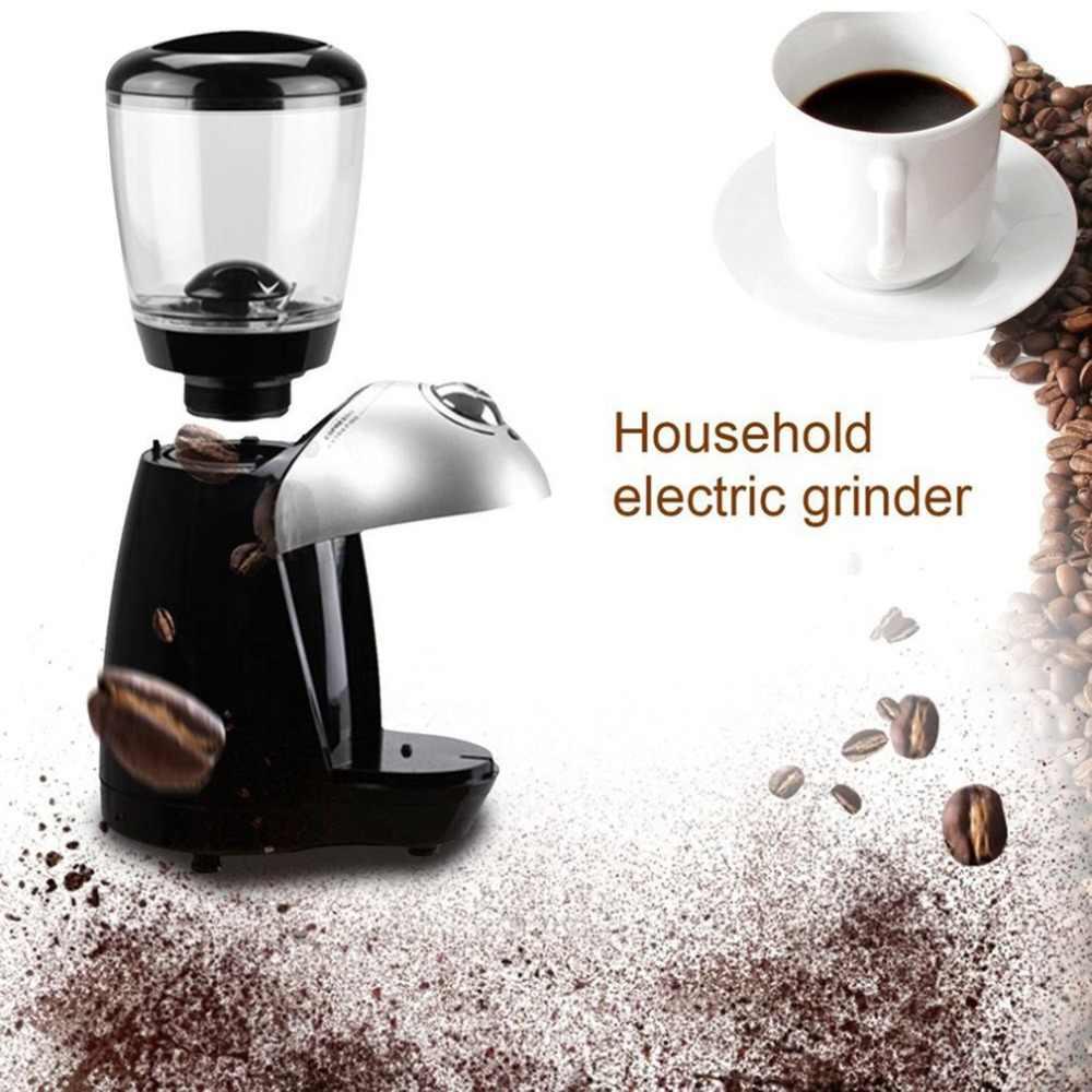 Профессиональная кофемолка для домашнего использования электрическая шлифовальная машина оснащена 420 шлифовальным диском из нержавеющей стали