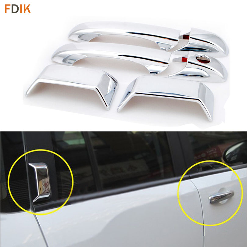 Bowl Covers For 2009-2015 Honda Pilot Accessories Chrome Side Door Handle