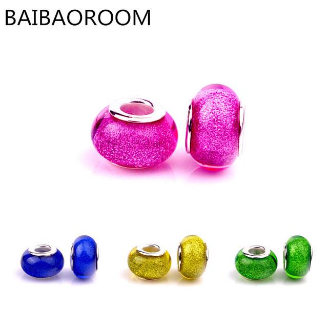 e30f36ece Aliexpress best seller Scrubs pattern resin DIY trade beads fit pandora  bracelet Jewelry Accessories