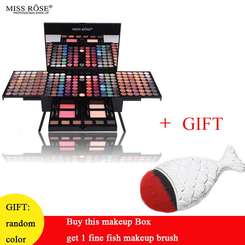 MISS Professional Makeup Kit sets Eyeshadow Blushers Cosmetic Case Full Pro Makeup Palette eyeshadow highlighter Bronzer