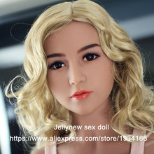 silicone head in Sex Doll,lifelike sex mannequin doll,oral depth 13 cm,Fit body height:153,156,158,161,163,168cm