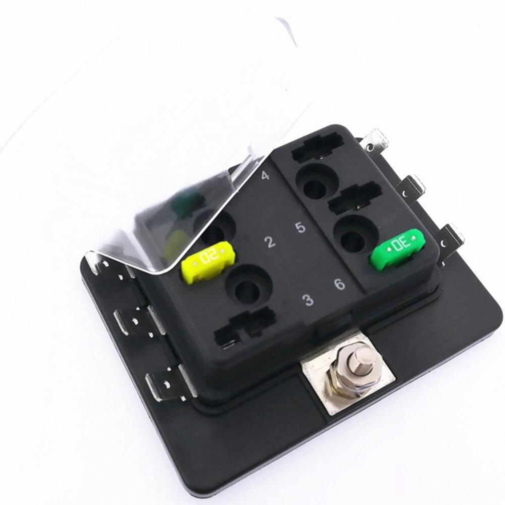 Mini Blade Fuse Holder Box : buy catuo 6 way mini blade fuse box ~ A.2002-acura-tl-radio.info Haus und Dekorationen