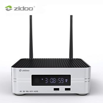 Zidoo Z10 Smart TV Box Android 7.1 4K Media Player NAS 2G DDR 16G eMMC Television Set Top Box 10Bit Android Top Box UHD TVbox