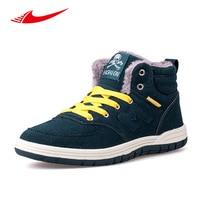 Beita Winter Men Skateboarding Shoes High Top Plus Velvet Men Sneakers Warm Colorful Flats Outdoor Non