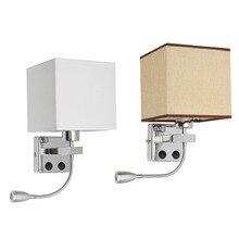 Moderne Applique Murale à Led Réglable LED Wall Light Eye Protéger Étude Lecture Lampe Intérieur Extérieur Applique Pour La Maison Chambre Couloir