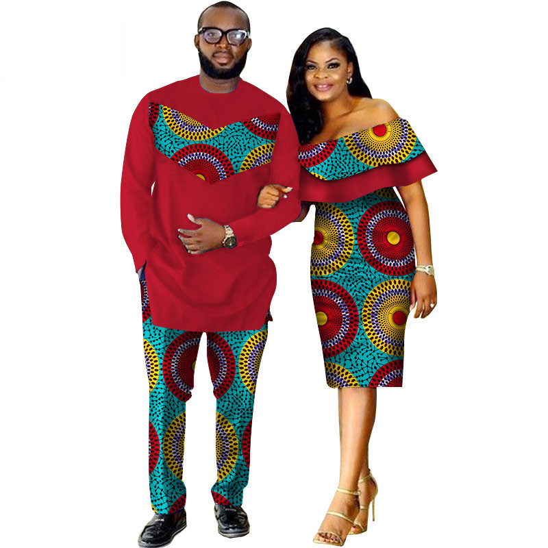 African-Dashiki-Print-Couple-Clothing-for-Lovers-Two-Piece-Set-Men-s-Suit-Plus-Women-s(1)