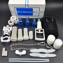 Super Top edtion deluxe rozszerzenie rozmiar Master Max Pro Extender fizyczna pompa próżniowa System powiększania penisa Sizemster Sex zabawki