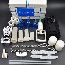 سوبر علوي edtion ديلوكس تمديد حجم ماستر ماكس برو موسع مضخة تفريغ المادية القضيب توسيع نظام Sizemster الجنس ولعب اطفال