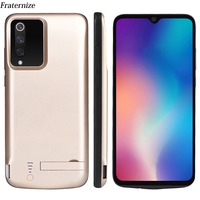 5000mAh Mi9 USB Power bank battery charger case For Xiaomi Mi 9 Shockproof Battery power pack Case Charging Stand Back cover