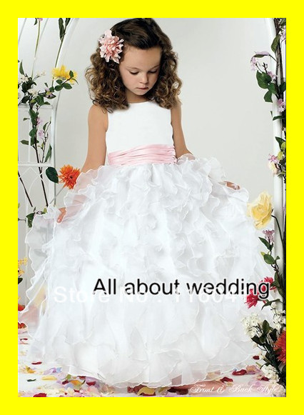 Flower Girl Dress For Wedding Girls Dresses Size Quinceanera Macys ...