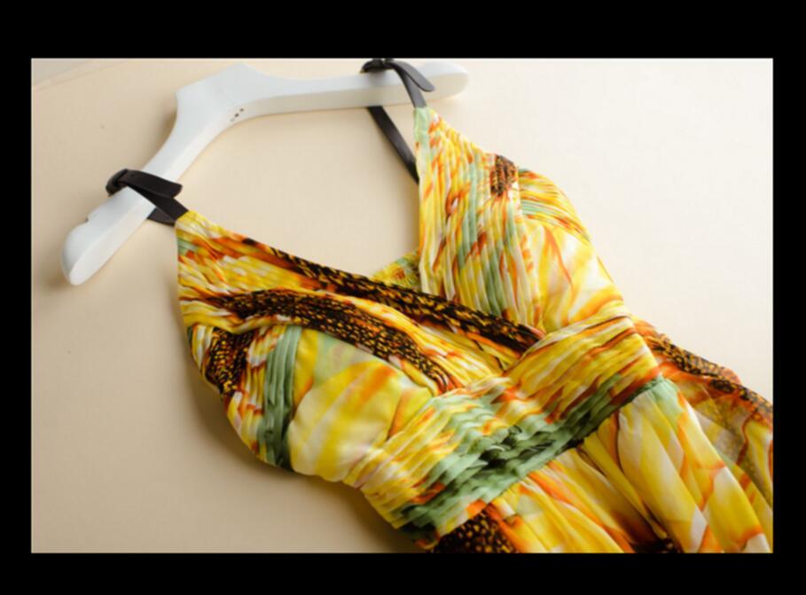 Ženska svilena haljina dugačka haljina 100% prirodna svilena - Ženska odjeća - Foto 5