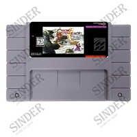 Chrono Trigger USA Version 16 bit Große Grau Spiel Karte Für NTSC Spiel-Player