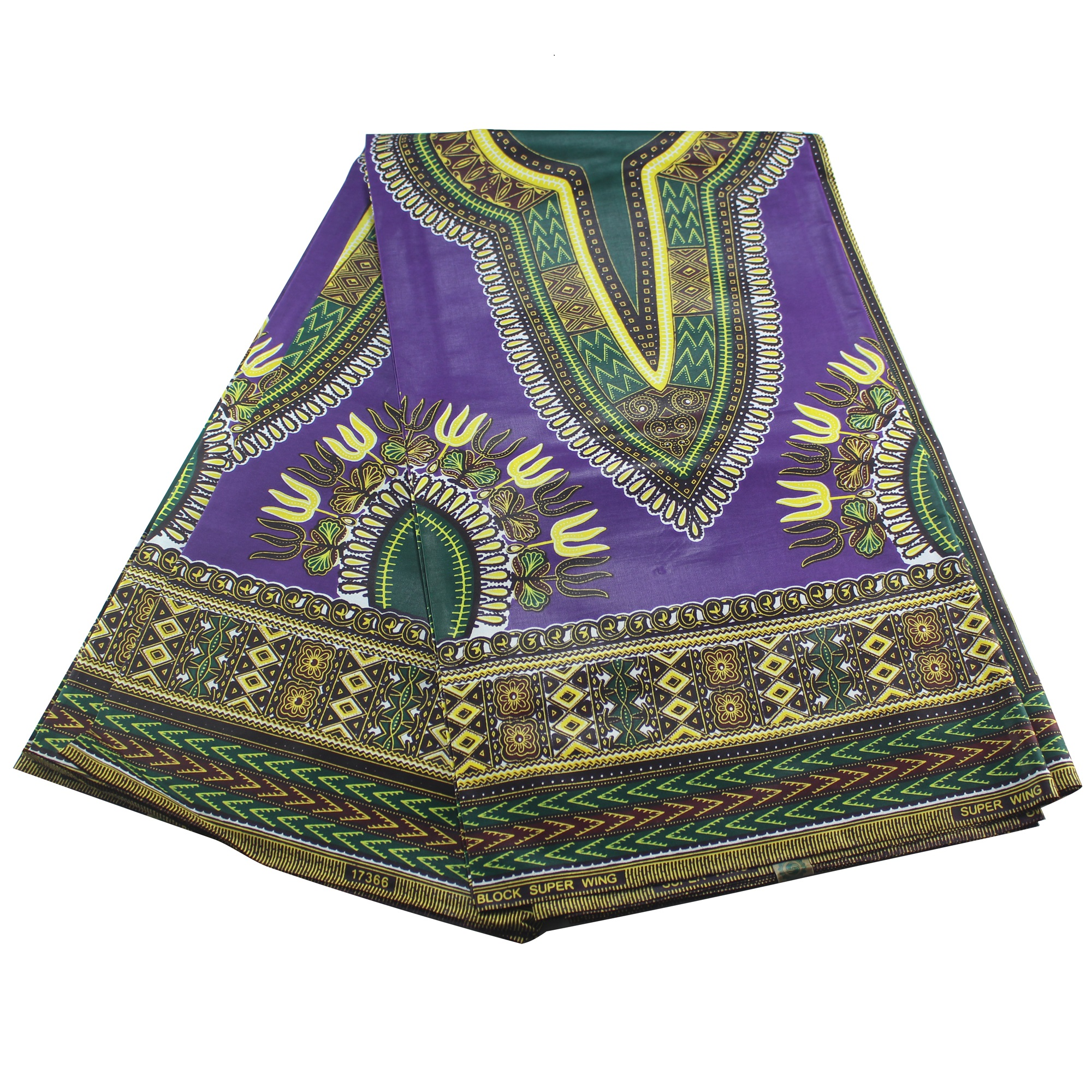 2019 Popular Dashiki Vintage Wax Cloth African Dashiki Wax Prints Fabric 6yards/lot For Party Dress