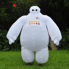 Halloween Inflatable costume Big Hero 6 Baymax Party Cosplay for men adult inflatable clothing baymax Mascot Cosume