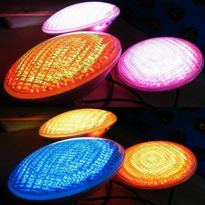 IP68 piscine piscine lumière RGB LED étanche sous-marine étang éclairage IP68 RGB lampe pour piscine extérieure jardin fête décoration