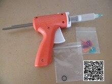 Новый 10 МЛ руководство шприц пушка/Эпоксидный Клей Пистолет одного жидкости клеевой пистолет 10CC Общего 1 ШТ. + 10CC конусов 1 ШТ. + Дозирования советы