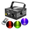 New 9 Big Gobos RG Laser Projector Lights 3W Blue Background LED Mix Effect DJ Home Garden Party Show Stage Lighting AZ09RG