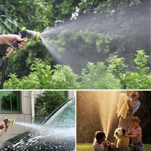 50Ft Garden Hose, All New Expandable Water Hose Set With Double Latex Core,3/4 Solid Fittings, Extra Strength Fabric, Flexible