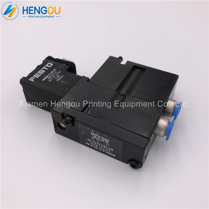 5 pieces high quality heidelberg Festo solenoid valve M2.184.1121/05, heidelberg printing machinery parts стоимость