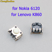 ChengHaoRan 5-10 pcs New Power Switch Key Button Connector replacement for Nokia 6120 Lenovo LePhone K860i K860